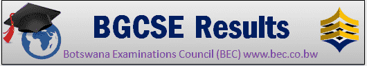 BGCSE Results 2019 Botswana