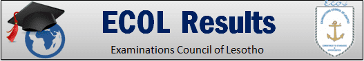 www.ecol.org.ls Results 2019