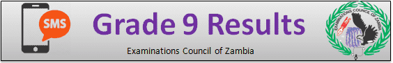 ECZ Grade 9 Results 2019 Zambia - JSSLE/G9 Results Release date