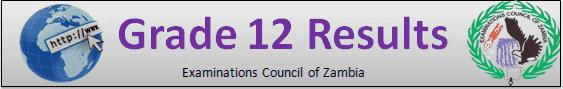 ECZ Grade 12 Results 2020 Zambia