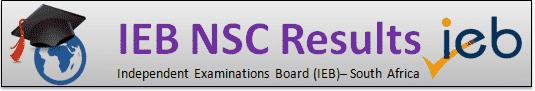IEB NSC Results 2019