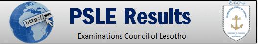 PSLE Results Online Lesotho 2020
